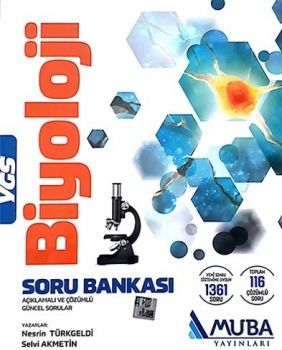 Muba Yayınları YGS Biyoloji Açıklamalı ve Çözümlü Soru Bankası
