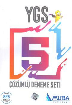 Muba Yayınları YGS Çözümlü 5 Deneme Seti