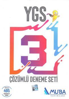Muba Yayınları YGS Çözümlü 3 Deneme Seti