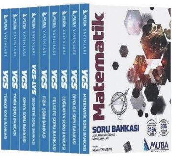 Muba Yayınları YGS Soru Bankası Kazandıran Set 9 Kitap