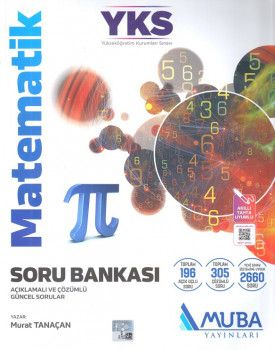 Muba Yayınları YKS 1. Oturum TYT Matematik Soru Bankası