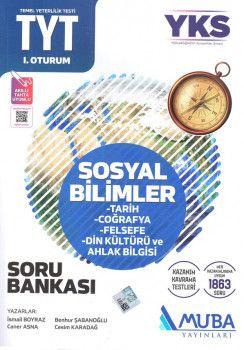 Muba Yayınları YKS 1. Oturum TYT Sosyal Bilimler Soru Bankası