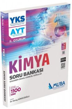 Muba Yayınları YKS 2. Oturum AYT Kimya Soru Bankası
