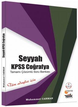 Muhammet Carman 2018 KPSS Coğrafya Seyyah Tamamı Çözümlü Tamamı Güncel Soru Bankası