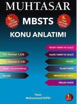 Muhtasar Yayınları 2020 MBSTS Konu Anlatımlı Hazırlık Kitabı