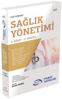 Murat AÖF Sağlık Yönetimi 2. Sınıf 3. Yarıyıl 6331