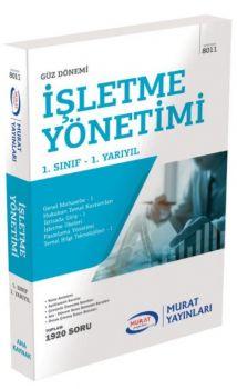 Murat Yayınları 1. Sınıf 1. Yarıyıl İşletme Yönetimi 8011