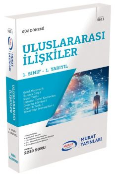 Murat Yayınları 1. Sınıf 1. Yarıyıl Uluslararası İlişkiler 5611