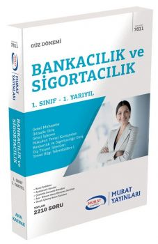 Murat Yayınları 1. Sınıf 1. Yarıyıl Bankacılık ve Sigortacılık 7811
