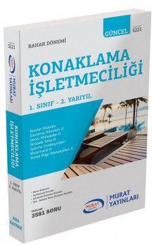 Murat Yayınları 1. Sınıf 2. Yarıyıl Konaklama İşletmeciliği 5221
