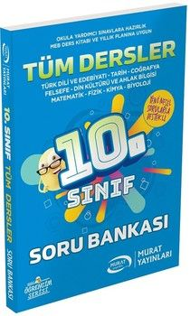 Murat Yayınları 10. Sınıf Tüm Dersler Soru Bankası