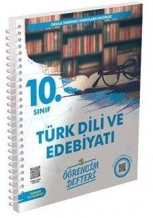 Murat Yayınları 10. Sınıf Türk Dili ve Edebiyatı Öğrencim Defteri