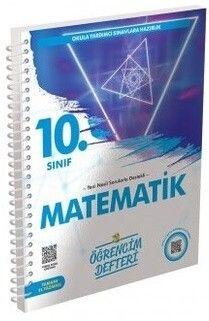 Murat Yayınları 10. Sınıf Matematik Öğrencim Defteri