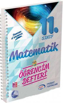 Murat Yayınları 11. Sınıf Matematik Öğrencim Defteri