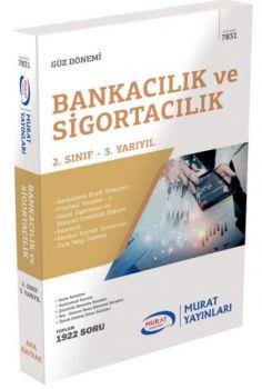 Murat Yayınları 2. Sınıf 3. Yarıyıl Bankacılık ve Sigortacılık 7831