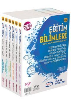 Murat Yayınları 2017 KPSS Eğitim Bilimleri Konu Anlatımlı Modüler Set