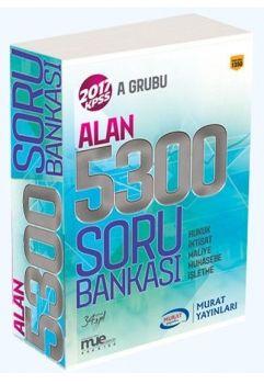 Murat Yayınları 2017 KPSS A Grubu Alan Bilgisi 5300 Soru Bankası
