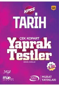 Murat Yayınları 2017 KPSS Tarih Çek Kopart Yaprak Testler 1073