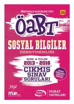 Murat Yayınları 2017 ÖABT Sosyal Bilgiler Öğretmenliği Çıkmış Sınav Soruları