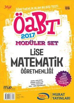 Murat Yayınları 2017 ÖABT Lise Matematik Öğretmenliği Konu Anlatımlı Modüler Set 1210