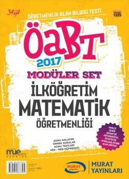 Murat Yayınları 2017 ÖABT İlköğretim Matematik Öğretmenliği Konu Anlatımlı Modüler Set 1225