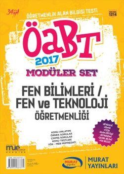 Murat Yayınları 2017 ÖABT Fen Bilimleri Fen ve Teknoloji Öğretmenliği Konu Anlatımlı Modüler Set 1214