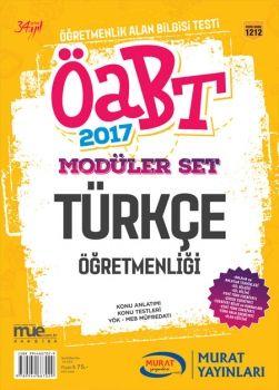 Murat Yayınları 2017 ÖABT Türkçe Öğretmenliği Konu Anlatımlı Modüler Set 1212