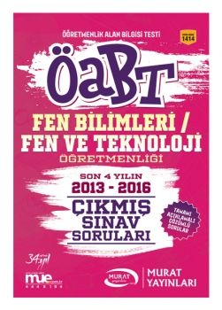 Murat Yayınları 2017 ÖABT Fen Bilimleri Fen ve Teknoloji Öğretmenliği Çıkmış Sınav Soruları 1414