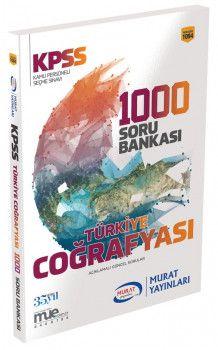 Murat Yayınları 2018 KPSS Türkiye Coğrafyası 1000 Soru Bankası 1094