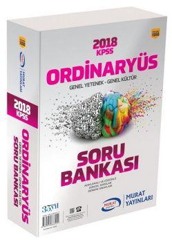 Murat Yayınları 2018 KPSS Genel Yetenek Genel Kültür Ordinaryüs Modüler Soru Bankası 1050