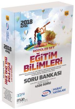 Murat Yayınları 2018 KPSS Eğitim Bilimleri Modüler Set 1250