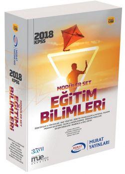 Murat Yayınları 2018 KPSS Eğitim Bilimleri Konu Anlatımlı Modüler Set 1200