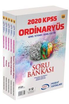 Murat Yayınları 2020 KPSS Genel Yetenek Genel Kültür Soru Bankası 1050