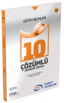 Murat Yayınları 2018 KPSS Eğitim Bilimleri Çözümlü 10 Deneme Sınavı 1265
