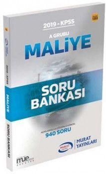 Murat Yayınları 2019 KPSS A Grubu Maliye Açıklamalı ve Çözümlü Soru Bankası