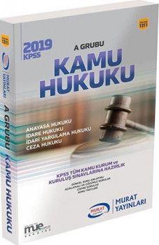 Murat Yayınları 2019 KPSS A Grubu Kamu Hukuku