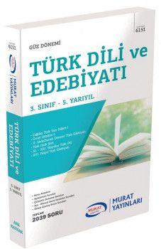 Murat Yayınları 3. Sınıf 5. Yarıyıl Türk Dili Edebiyatı 6151