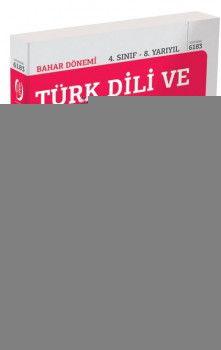 Murat Yayınları 4. Sınıf 8. Yarıyıl Türk Dili ve Edebiyatı Son 5 Yıl Çıkmış Sınav Soruları 6183