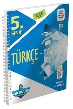 Murat Yayınları 5. Sınıf Türkçe Okulum Akıllı Defter