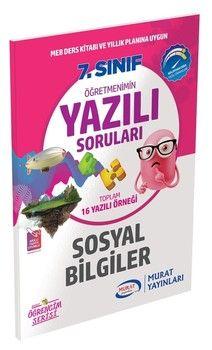 Murat Yayınları 7. Sınıf Sosyal Bilgiler Öğretmenimin Yazılı Soruları 3443