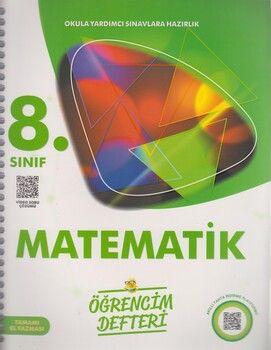 Murat Yayınları 8. Sınıf Matematik Öğrencim Defteri