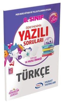 Murat Yayınları 8. Sınıf Türkçe Öğretmenimin Yazılı Soruları 3450