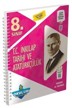 Murat Yayınları 8. Sınıf T.C. İnkılap Tarihi ve Atatürkçülük Okulum Akıllı Defter
