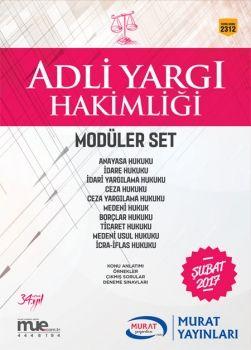 Murat Yayınları Adli Yargı Hakimliği Modüller Set 2312
