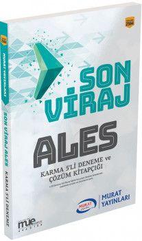 Murat Yayınları ALES Son Viraj Karma 5li Deneme ve Çözüm Kitapçığı