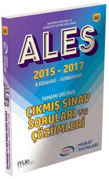 Murat Yayınları ALES 2015 2017 Çıkmış Sınav Soruları ve Çözümleri 2061