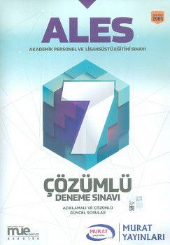 Murat Yayınları ALES Çözümlü 7 Deneme Sınavı 2065