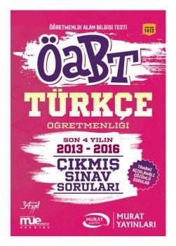 Murat Yayınları ÖABT Türkçe Öğretmenliği Çıkmış Sınav Soruları 1412