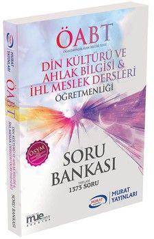 Murat Yayınları ÖABT Din Kültürü ve Ahlak Bilgisi İHL Meslek Dersleri