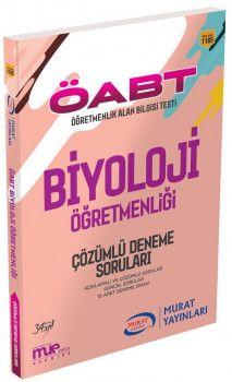Murat Yayınları ÖABT Biyoloji Öğretmenliği Çözümlü Deneme Soruları 1185